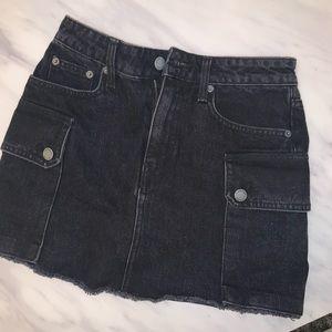 Black Carmar denim shorts size 26